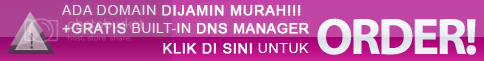 Domain Murah + Gratis DNS Manager